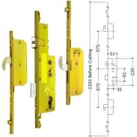 Avocet 2 Hook 2 Roller Multipoint upvc Door Lock