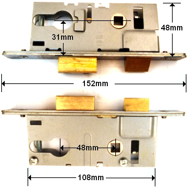 Union Aluminium Door Gearbox Type 2 - Click Image to Close