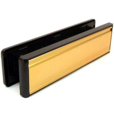 double glazed upvc door letterbox