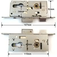 Union Aluminium Door Gearbox Type 1